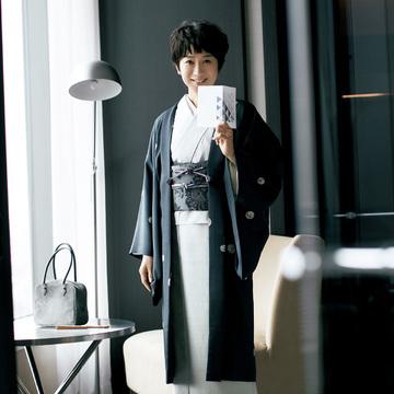 黒田知永子、取り合わせの楽しさのとりこに。「2年目」のきもの遊び 五選