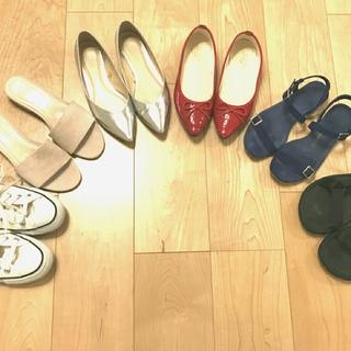 この春夏はフラット靴ブーム