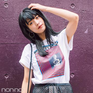 ユニクロだってこんなにおしゃれ☆ノンノモデルの私服Tシャツコーデ