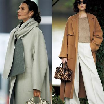 【2019-2020年冬】50代のほめられコート27&最旬コート着こなしコーデ18