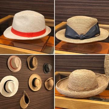 帽子の「魅せる」収納