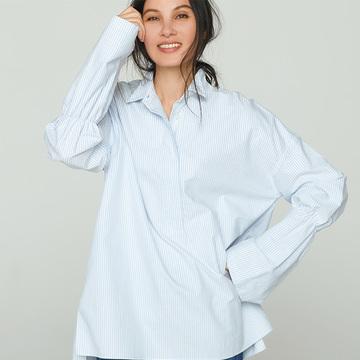 美シルエットで最強のワードローブ! 2019年春「進化したシャツ&シャツドレス」コーデ35