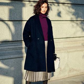 """大人のリアルな着映え服。ドゥクラッセの12月の""""今すぐ買い足し名品""""は<華やかプリーツスカート>"""