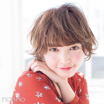 """春映えヘアカタログ★女っぽショートボブは""""うぶ毛パーマ""""で作る!"""