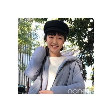 松川菜々花のピンク&デニムで可愛げヘルシーコーデ【毎日コーデ】