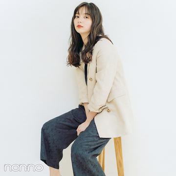 新川優愛はジャケット×オールインワンで大人カジュアル【毎日コーデ】