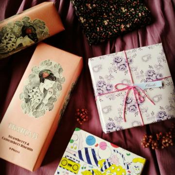 乙女なパッケージ菓子♡三選