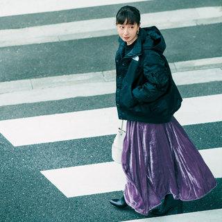 「簡単に女っぽくなれて、楽ちん!」スタイリスト徳原文子さんのカジュアルロングスカート3選