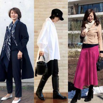 50代華組ブロガーのおしゃれコーデ  photo gallery