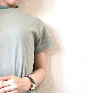 #GU アラフォーのTシャツは、小物で「盛る」が鉄則!