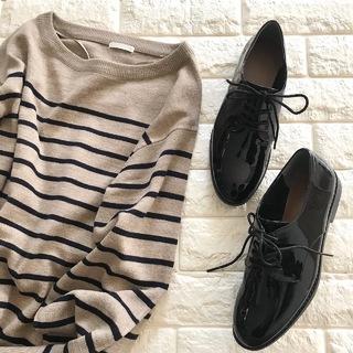この2点、コスパ最強説!靴&ニット合わせて3,300円?!【高見えプチプラファッション #93】