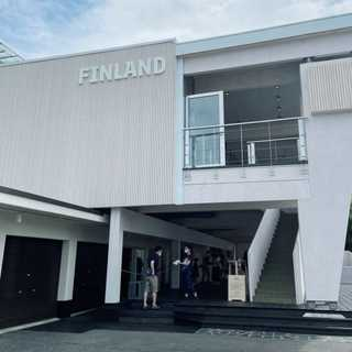 フィンランド大使館、サスティナブルなメッツァ・パビリオンに行ってきました!
