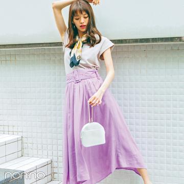 リネンスカートが夏のトレンドに急上昇! ネオナチュ&街リゾに欠かせない!