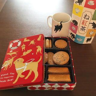 かわいくて、美味しくて、サポートにも繋がる!『盲導犬デザインの泉屋クッキー缶』でおやつタイム♡