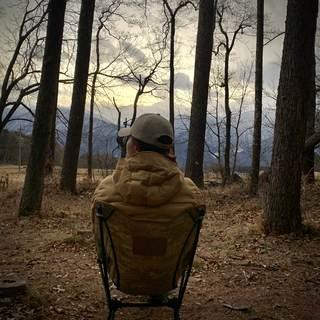 寒い真冬の年越しキャンプ
