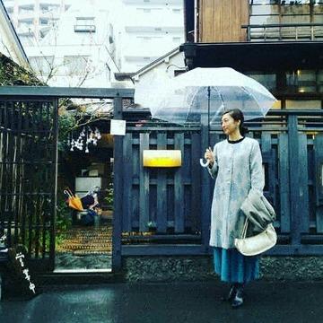 雨の古民家カフェ in 西荻窪2軒