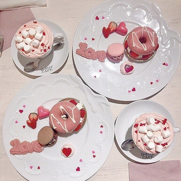 Vol.37♡ 可愛すぎる!Q-pot CAFE.のバレンタイン限定メニュー❤︎
