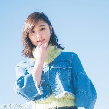 鈴木友菜が着るSLYの新作Gジャン♡ ショート丈のコーデバランス、これが正解!