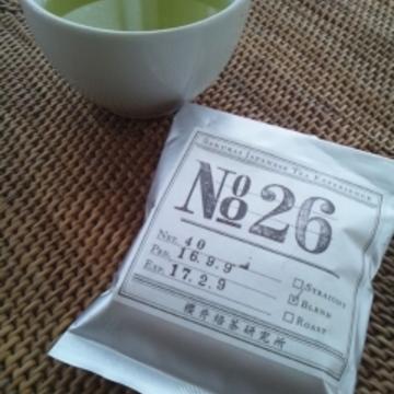 ミントの緑茶