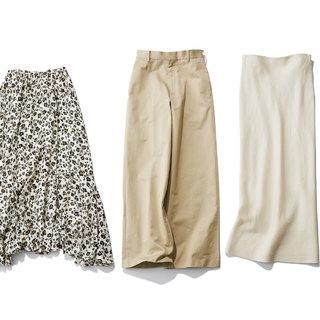 スタイリストの個人的偏愛スカート&パンツ【2020夏・おしゃれプロのこれ買っちゃいました】