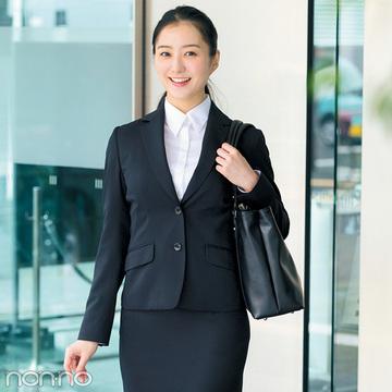 とにかくシルエットがキレイ! 就活スーツ「洋服の青山」で買うならコレ♡