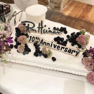 ロンハーマン日本上陸10周年パーティに行ってきました!
