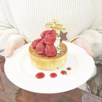 星野珈琲のクリスマスパンケーキを食べてみた♡
