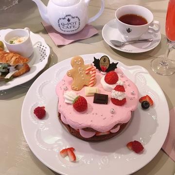 可愛すぎる!Q-pot CAFEのクリスマス限定メニュー♡