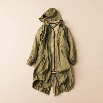 秋の長雨でも外出が楽しくなる「TICCA」のモッズコート