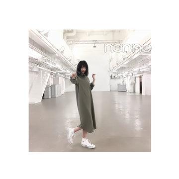"""毎日コーデ★西野七瀬は落ち感シャツワンピで""""いい女""""♡"""