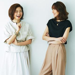 <前編>人気エディター・磯部安伽さん&三尋木奈保さんが選んだ「夏の最強6着」とは?