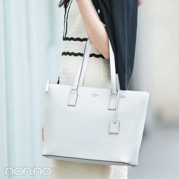 憧れブランド「ケイト・スペード ニューヨーク」の最新A4対応バッグ☆