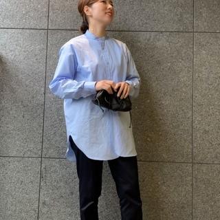 脚長さんじゃなくても…フラットシューズを楽しむ【ビッグシャツ】#4