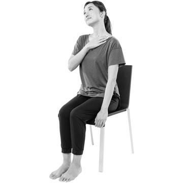 【1日5分 首コリ改善ストレッチ①】基本の「首の前側」ストレッチでたまったコリと疲れを緩和