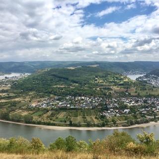 夏休み旅行 day2:ドイツ ライン川上り
