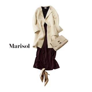 スカートに見えるワイドパンツや旬のふわもこコートで女子ウケ抜群!【2017/12/7コーデ】