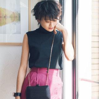 デイリーカジュアルにきく! モデル渡辺佳子さんのコラボ&セレクトアイテムが登場