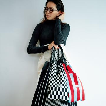 【村山佳世子さんが選ぶ旬小物】時代の空気感を表現するデザインサブバッグに注目