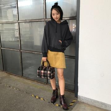 武田玲奈のカジュアル可愛いミニスカコーデ 【毎日コーデ】