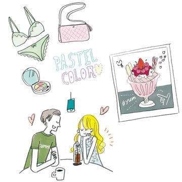 【ナツコイ占い】この夏、恋愛力が高まるラッキーアイテム&シーンBEST5