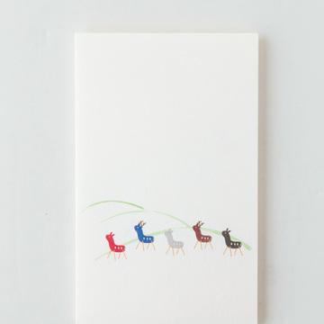 4.藤田芸香亭(うんこうてい)の文具「ポチ袋」
