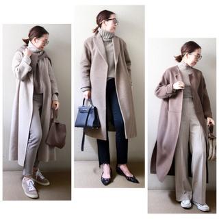 身長低めさんのコート着こなし、サイズ選びより大事なのは?【小柄バランスコーデ術#01】