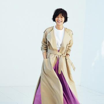 これが最後と思える一着を探して。富岡佳子の 「上がり」のトレンチ 五選