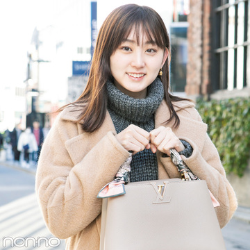 ノンノ専属読モの愛用ブランドバッグ、見せて♡ 【カワイイ選抜】