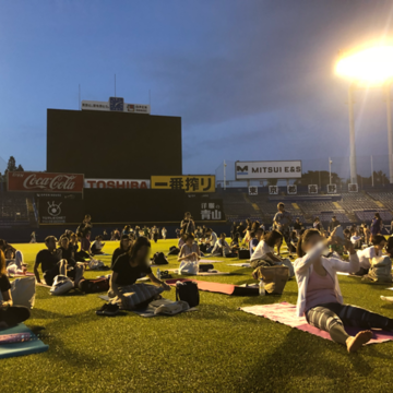 JINGU STADIUM NIGHT YOGA 2018