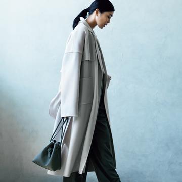 カオスの「ダブルフェイスベルテッド」コート【今季買うべき「指名買いコート」】