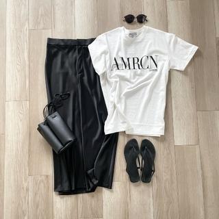 2021春夏 人気ブランドの上質なロゴTシャツ【40代 私のクローゼット】