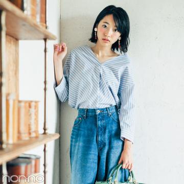 新川優愛&武田玲奈がお手本! デニムで秋の大人っぽコーデ