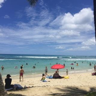 遅め夏休みin hawaii♡