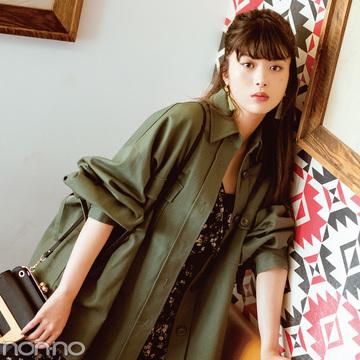 ポストGジャン★この秋はシャツ型アウターがきてる!